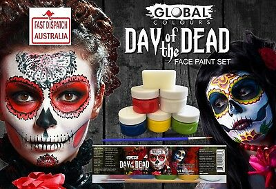 Day-of-the-Dead-Face-Paint-Set-Halloween-Special-new to Ebay.....cheapest too!!!
