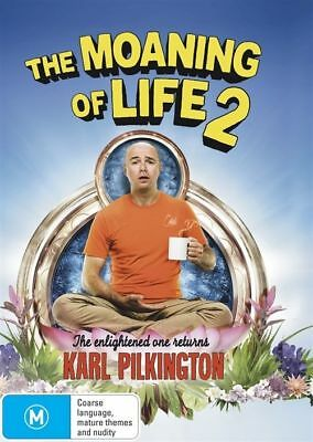 The Moaning Of Life : Series 2 (DVD, 2016, 2-Disc Set) (D172/D182)