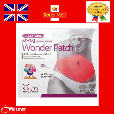 5 MYMI Fat Burner Wonder Patch Belly Slimming Treatment Weight Loss Buster slim