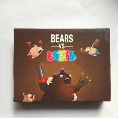 Bears VS Babies Family & Party Card Game From the Creators Of Exploding Kittens