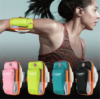 Sport Arm Band Sweat-proof Jogging Package Universal Pouch Phone Bag Case Holder