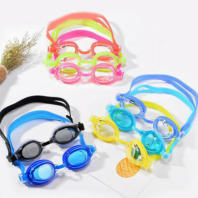1 Pc Cute Resin Silicone Comfortable Children Goggle Toys Swimming Glasses Games