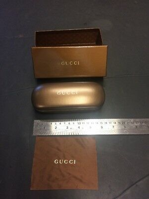 GUCCI Glasses CASE USED ONCE BOX CASE AND CLOTH
