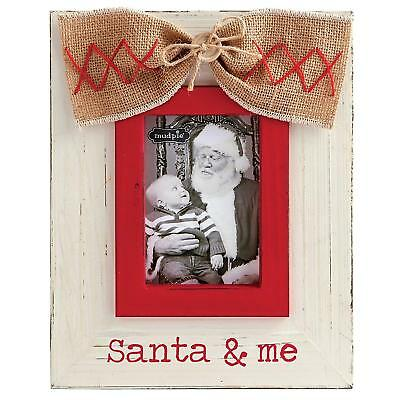 Mud Pie Santa and Me Vertical Frame