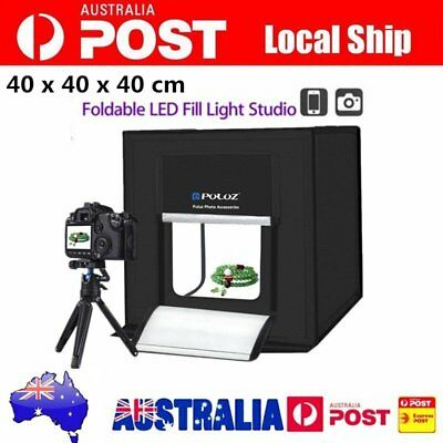 PULUZ Photography Studio Photo Light Tent 40CM Cube Soft Box Lighting Kit GT