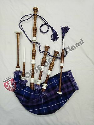 New Great Scottish Highland Bagpipe Ready to Play Free Tutor Book & Accessories