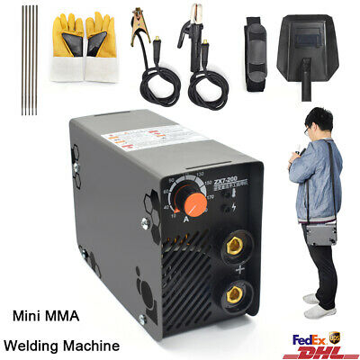 Mini MMA IGBT Handheld Welder 220V 10-200A Inverter ARC TIG Welding Machine Tool