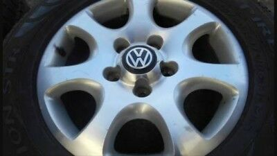 4 X VW Touareg Original Wheels 255/60/17