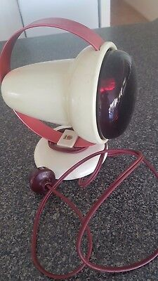 Vintage Retro Phillips Infra Red Lamp