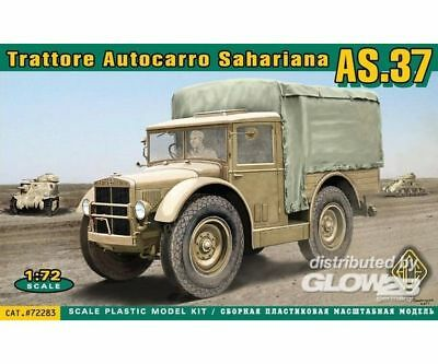 ACE ACE72283 Trattore Autocarro Sahariano AS37 in 1:72