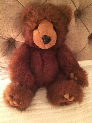"Gorgeous Grizzles the Brown Bear,  By Russ, Veryu Soft & Fluffy, 13"" tall, VGC"