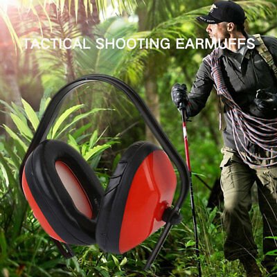 Anti-Noise Soundproof Noise Reduction 20dB Impact Ear Hearing Protection Earmuff