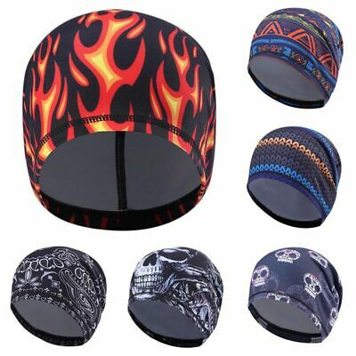 Outdoor Skull Cap Under Helmet Liner Moisture Wicking Cycling Motorcycle Running