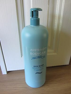 AUSTRALIAN BODYCARE TEA TREE OIL SKIN WASH  1000ml  ~ NEW