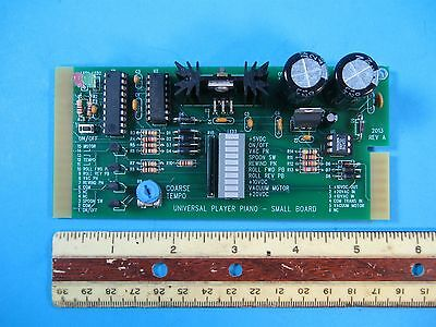 "Universal Player piano Replacement Electronic board, Size  2 1/2"" X 5 1/2"""