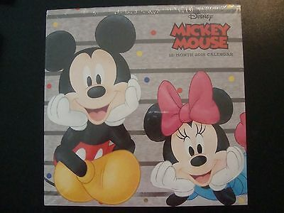 "DISNEY MICKEY MOUSE & FRIENDS  2018 CALENDAR NIP 10"" X 10"" unopened"
