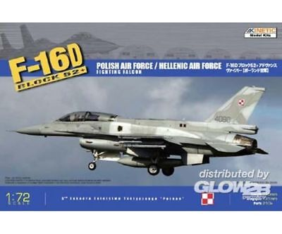 KINETIC K72002 F-16D52 Hellenic Air ForcePolish Air F in 1:72