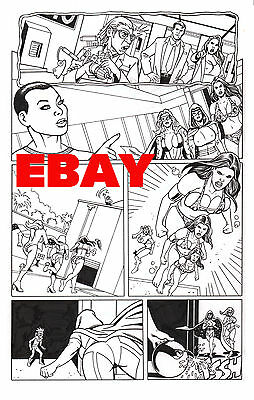Femtastic No. 1 , Pg 24  New All Girl Squad!  Original Art! Paragon Pubs