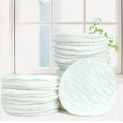Pregnant Woman Nursing Pads Spill-Proof For Breast Feeding Reusable White