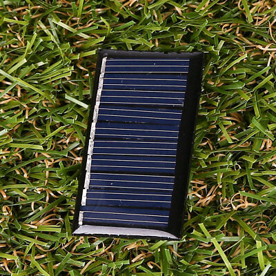 5V 25MA 45x25mm Polycrystalline Silicon Solar Panels Epoxy Battery Charger