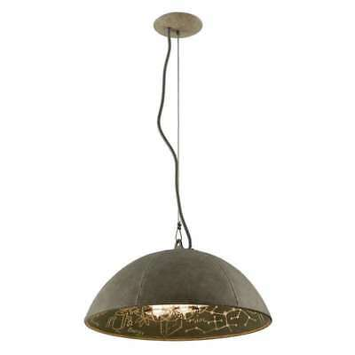 Troy Lighting F3654 Pendant Light In Salvage Zinc With Ch