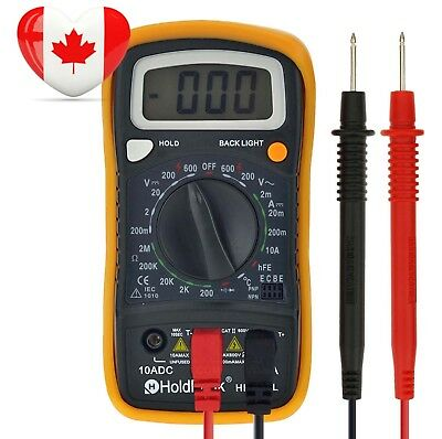 Digital Multimeter Multi Tester HOLDPEAK 838L Manual-Ranging with Non...