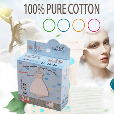 25Pcs Cosmetic Makeup Travel Towel Disposable Cotton Removal Pads Face Cleaner