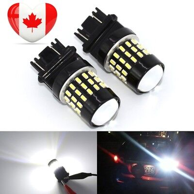 KATUR 2pcs Super Bright 3157 3047 3057 3057A 3155 3157A 3014 54SMD Lens LED...