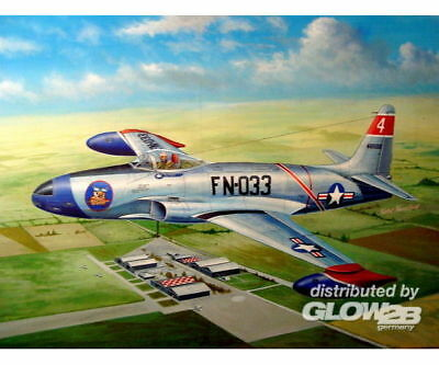 Hobby Boss 81723 F-80A Shooting Star fighter in 1:48