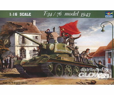 Trumpeter 00903 T-3476 1943 in 1:16