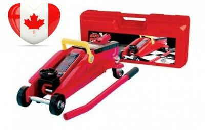 Torin Big Red T82012 Hydraulic Trolley Jack with Case, 2 Ton Capacity