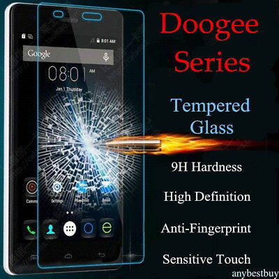 2X Real Tempered Glass Screen Protective Film For Doogee X5 Max/X6/X6 Pro Y6 Y6C