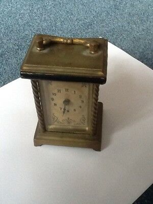 Carriage Clock For Spares Or Repair