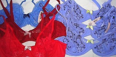 NWT ~ Victoria's Secret VS Wholesale Lot of 6 ~ 36B Bras Mixed Styles Colors