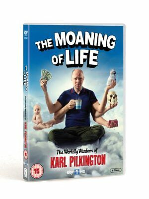 The Moaning of Life [DVD] [2013] Karl Pilkington New Sealed Comedy