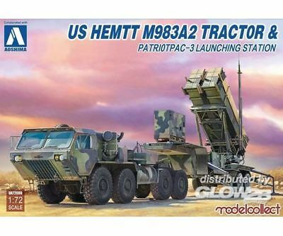 Modelcollect UA72080 US HEMTT M983A2Tractor amp; Patriot PAC-3 in 1:72