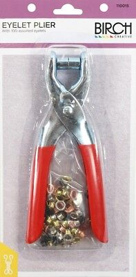 Birch 110015 | Eyelet Pliers With Eyelets | 100 Pack | FREE SHIPPING