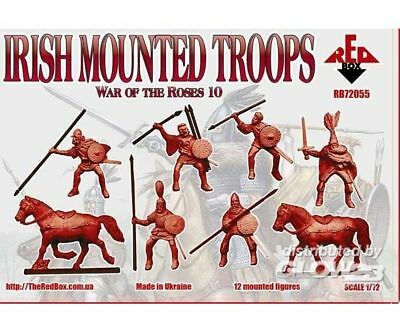 Red Box RB72055 Irish mounted troopsWar of the Roses 10 in 1:72