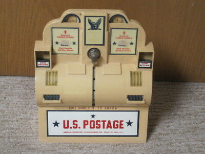 U.S. Postage Stamp Vending Machine American Futura Corp,Vintage Post Office Item