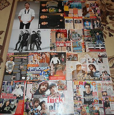 Fall Out Boy Pete Wentz - Posters Clippings Postcards Collection