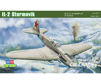 Hobby Boss 83201 IL-2 Ground attack aircraft in 1:32