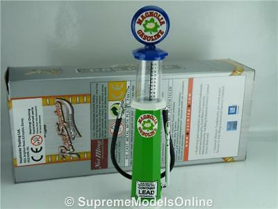Magnolia Petrol Gas Pump Model 1/18Th Scale Visible Green/blue Example T3412Z(=)