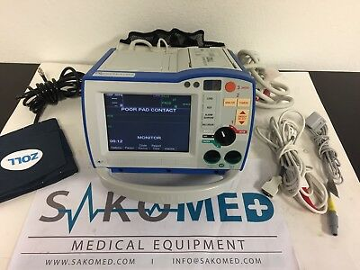 ZOLL R Series ALS BiPhasic LOADED 12-lead ECG, Pacing, AED, Spo2, NIBP, and Co2