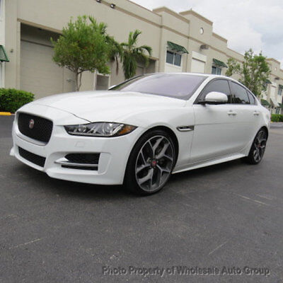 2017 Jaguar XE 35t R-Sport RWD ONE OWNER CARFAX CERTIFIED.  BEST COLOR . FULLY LOADED.