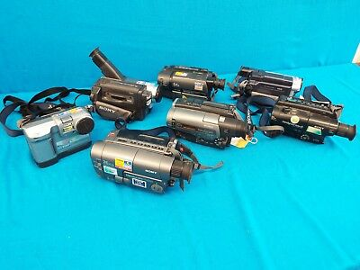 Sony Camcorders Untested For Reapir - Lot Of  7