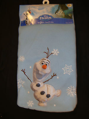 "Disney Frozen ""olaf"" Christmas Tree Skirt  Nwt Appliqued / Embroidered 48"" Round"