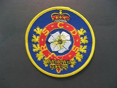 Royal Scottish Country Dancing Society Vancouver Branch B.c. Embroidered Patch