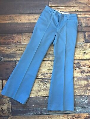 Vintage 1970's Blue Bell bottom Flares Boys 164 Trousers Age 12-16?
