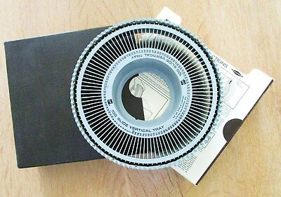 Gaf Vertical Rotary 100 Slide Projector Tray With Slipcase New