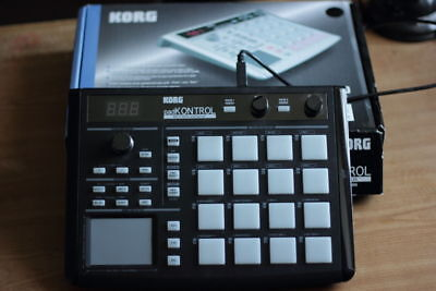 korg padkontrol black with box an eveything u need too get started